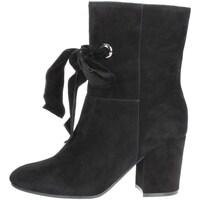 Schuhe Damen Low Boots Luciano Barachini BB241A Schwarz
