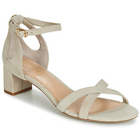 Schuhe Damen Sandalen / Sandaletten Lauren Ralph Lauren FOLLY Beige