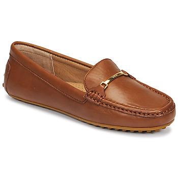 Schuhe Damen Slipper Lauren Ralph Lauren BRIONY Cognac
