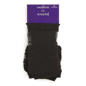 Accessoires Damen Socken & Strümpfe André PERDRIX Schwarz