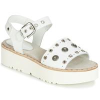 Schuhe Damen Sandalen / Sandaletten Fru.it 5435-476 Weiss