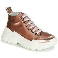 Schuhe Damen Sneaker Low Now 5390-850 Bronze