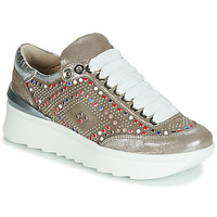 Schuhe Damen Sneaker Low Now 5357-008 Beige