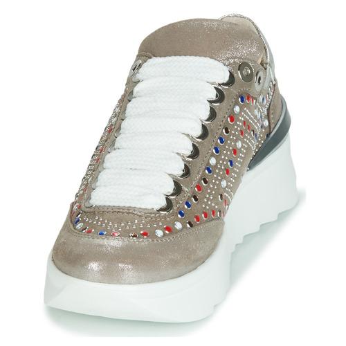 Fru  5357-008 Beige  Schuhe Turnschuhe Low Damen Damen Damen b61c03
