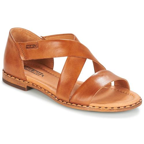 Pikolinos ALGAR W0X Camel  Schuhe Sandalen / Sandaletten Damen