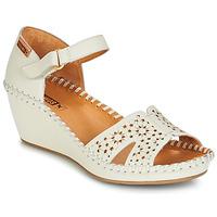 Schuhe Damen Sandalen / Sandaletten Pikolinos MARGARITA 943 Weiss