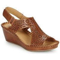 Schuhe Damen Sandalen / Sandaletten Pikolinos MARGARITA 943 Braun