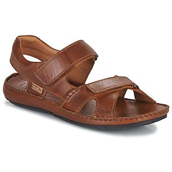 Schuhe Herren Sandalen / Sandaletten Pikolinos TARIFA 06J Camel