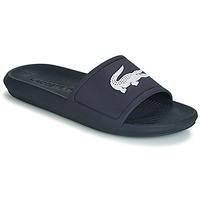 Schuhe Herren Pantoletten Lacoste CROCO SLIDE 119 1 Marine / Weiss