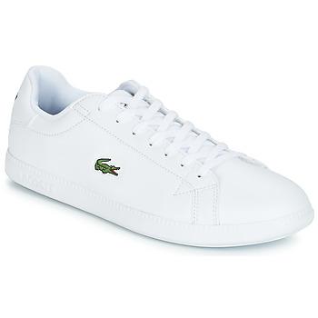 Schuhe Herren Sneaker Low Lacoste GRADUATE BL 1 Weiss