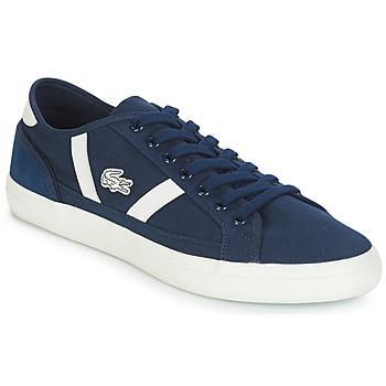 Schuhe Herren Sneaker Low Lacoste SIDELINE 119 1 Marine / Weiss