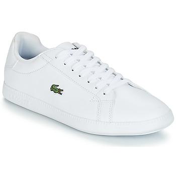 Schuhe Damen Sneaker Low Lacoste GRADUATE BL 1 Weiss