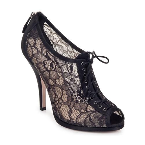 Schuhe Damen Ankle Boots Sebastian GRIPO Schwarz