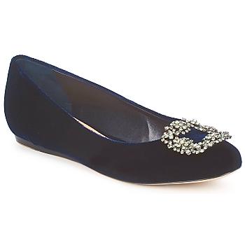 Schuhe Damen Ballerinas Sebastian ELIAJU Blau