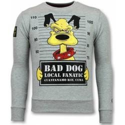 Kleidung Herren Sweatshirts Local Fanatic Pluto Cartoon Grau