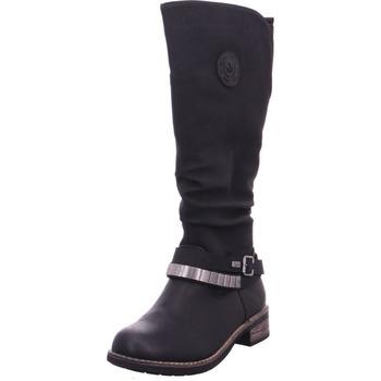 Schuhe Damen Klassische Stiefel Stiefel - 94661-00 sch/sc/sch 00