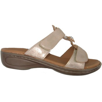 Schuhe Damen Pantoletten / Clogs Ara Hawaii Gold