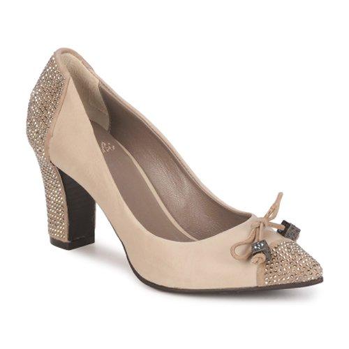 Schuhe Damen Pumps Fabi PASQUA Beige