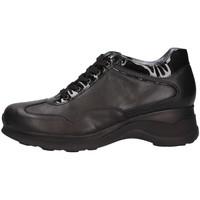 Schuhe Damen Sneaker Low Mg Magica D1891 Sneaker Frau schwarz schwarz