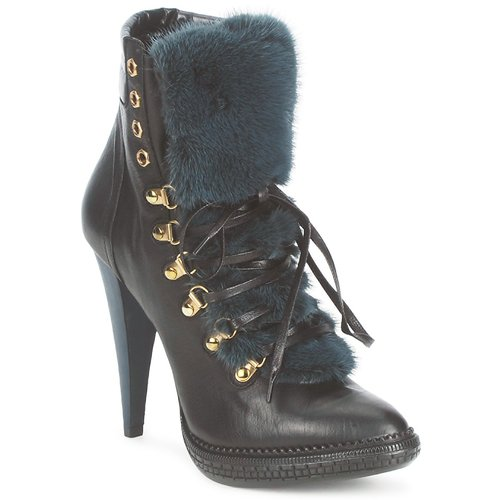 Schuhe Damen Low Boots Roberto Cavalli QPS583-PZ260 Braun