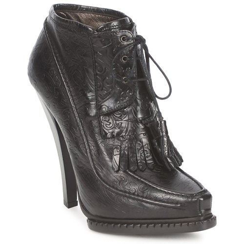 Roberto Cavalli QDS640-PZ030 Schwarz  Schuhe Low Boots Damen 959,20