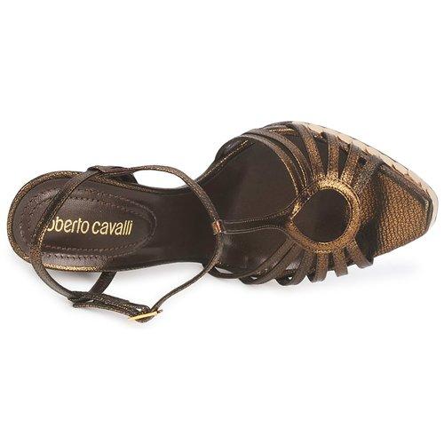 Roberto Cavalli QDS627-PM027 Bronze  Schuhe 668 Sandalen / Sandaletten Damen 668 Schuhe 725297