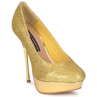 Schuhe Damen Pumps French Connection JEZABEL Gold