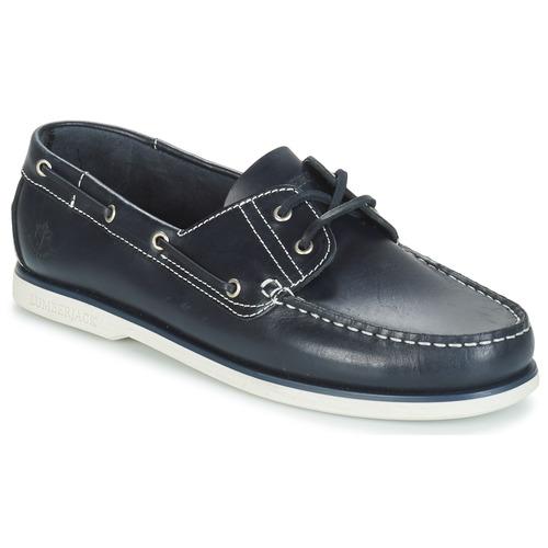 Schuhe Herren Bootsschuhe Lumberjack NAVIGATOR Marine