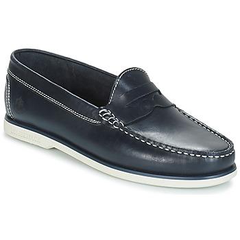 Schuhe Herren Slipper Lumberjack NAVIGATOR Marine