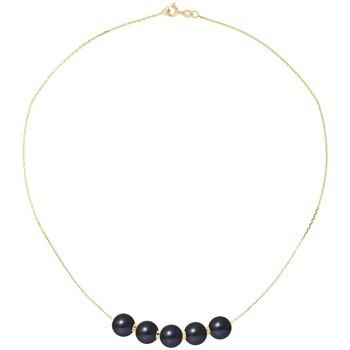 Uhren Damen Collier Blue Pearls BPS K034 W Multicolor