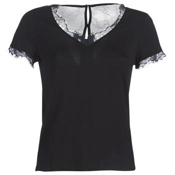 Kleidung Damen T-Shirts Morgan DMINOL Schwarz