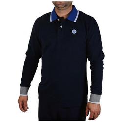 Kleidung Herren Langärmelige Polohemden North-Sails POLOL/SW/LOGOsweatshirt