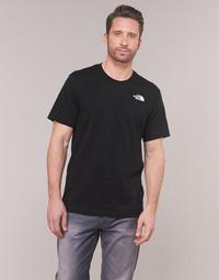Kleidung Herren T-Shirts The North Face MEN'S S/S REDBOX TEE Schwarz