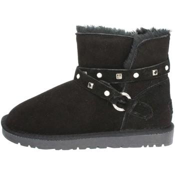 Schuhe Damen Schneestiefel Pregunta PL3358PL 001 Schwarz