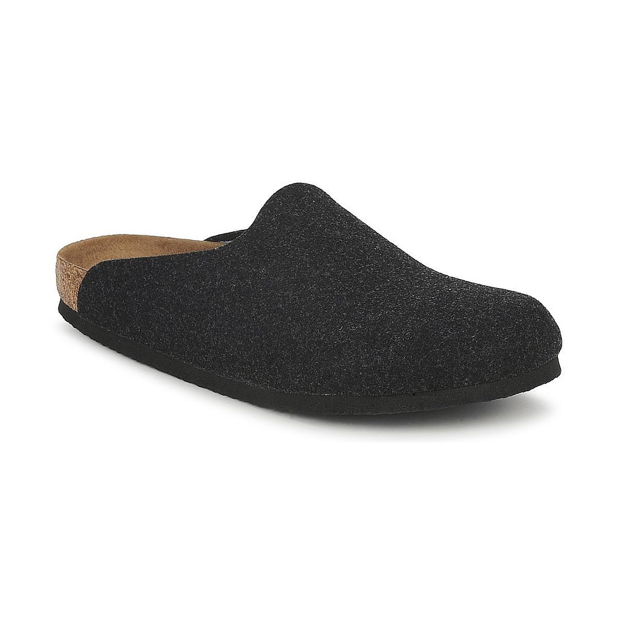 Birkenstock AMSTERDAM Grau - Kostenloser Versand bei Spartoode ! - Schuhe Pantoletten / Clogs  47,99 €