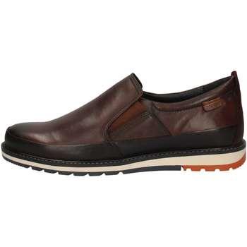 Schuhe Herren Slipper Pikolinos M8J-3150 BROWN