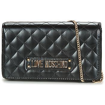 Taschen Damen Umhängetaschen Love Moschino JC4118PP17 Schwarz