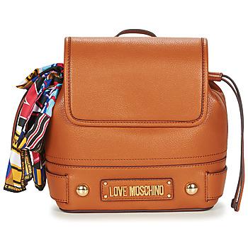 Taschen Damen Rucksäcke Love Moschino JC4037PP17 Cognac
