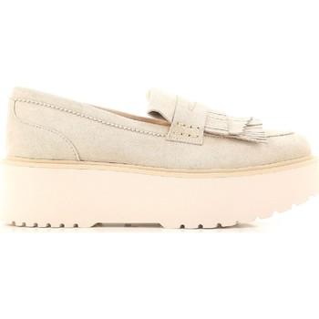Schuhe Damen Slipper Hogan HXW3550AF10CR0M024 beige
