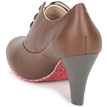 Terra plana GINGER ANKLE Braun - Kostenloser Versand |  - Schuhe Ankle Boots Damen 14000