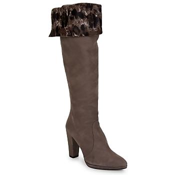 Schuhe Damen Klassische Stiefel Stuart Weitzman ZOOKEEPER braun