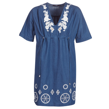 Kleidung Damen Kurze Kleider Desigual ELECTRA Marine