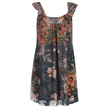 Kleidung Damen Kurze Kleider Desigual NIELS Grau