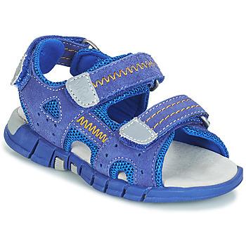 Schuhe Jungen Sportliche Sandalen Mod'8 TRIBATH Blau
