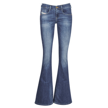 Kleidung Damen Bootcut Jeans Diesel EBBEY Blau / 089am