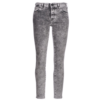 Kleidung Damen Slim Fit Jeans Diesel BABHILA Grau / 069fk