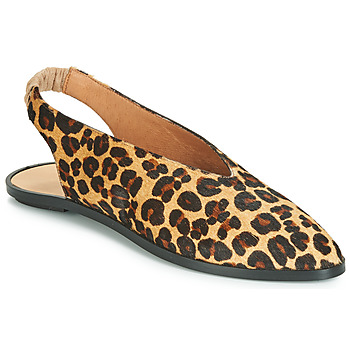 Schuhe Damen Ballerinas Jonak APIO Leopard