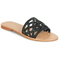 Schuhe Damen Pantoffel Jonak WEB Schwarz