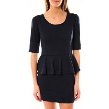 Kleidung Damen Kurze Kleider Tcqb Robe Moda Fashion Marine Blau