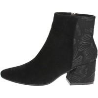 Schuhe Damen Ankle Boots Pregunta PCF03 001 Schwarz